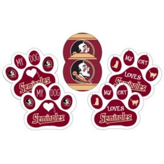 Florida State Seminoles Pet 6-Piece Magnet Set