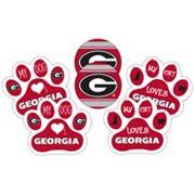 Georgia Bulldogs Pet 6 pc Magnet Set