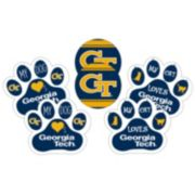 Georgia Tech Yellow Jackets Pet 6-Piece Magnet Set
