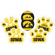 Iowa Hawkeyes Pet 6 pc Magnet Set