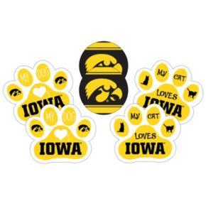 Iowa Hawkeyes Pet 6-Piece Magnet Set