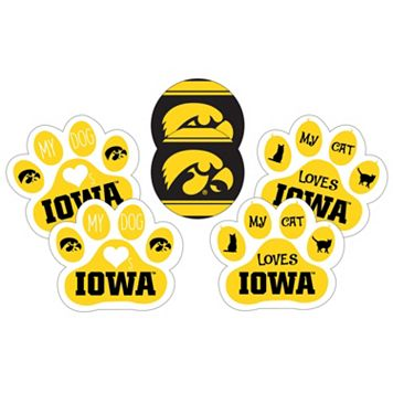 Iowa Hawkeyes Pet 6-Piece Magnet Set