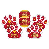 Iowa State Cyclones Pet 6-Piece Magnet Set