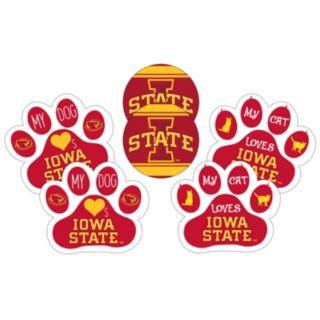 Iowa State Cyclones Pet 6-Piece Magnet Set