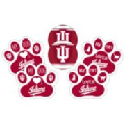 Indiana Hoosiers Pet 6-Piece Magnet Set