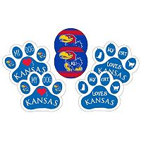 Kansas Jayhawks Pet 6-Piece Magnet Set