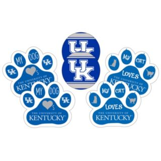 Kentucky Wildcats Pet 6-Piece Magnet Set