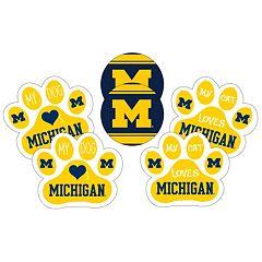 Michigan Wolverines Pet 6-Piece Magnet Set