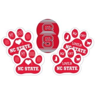 North Carolina State Wolfpack Pet 6-Piece Magnet Set