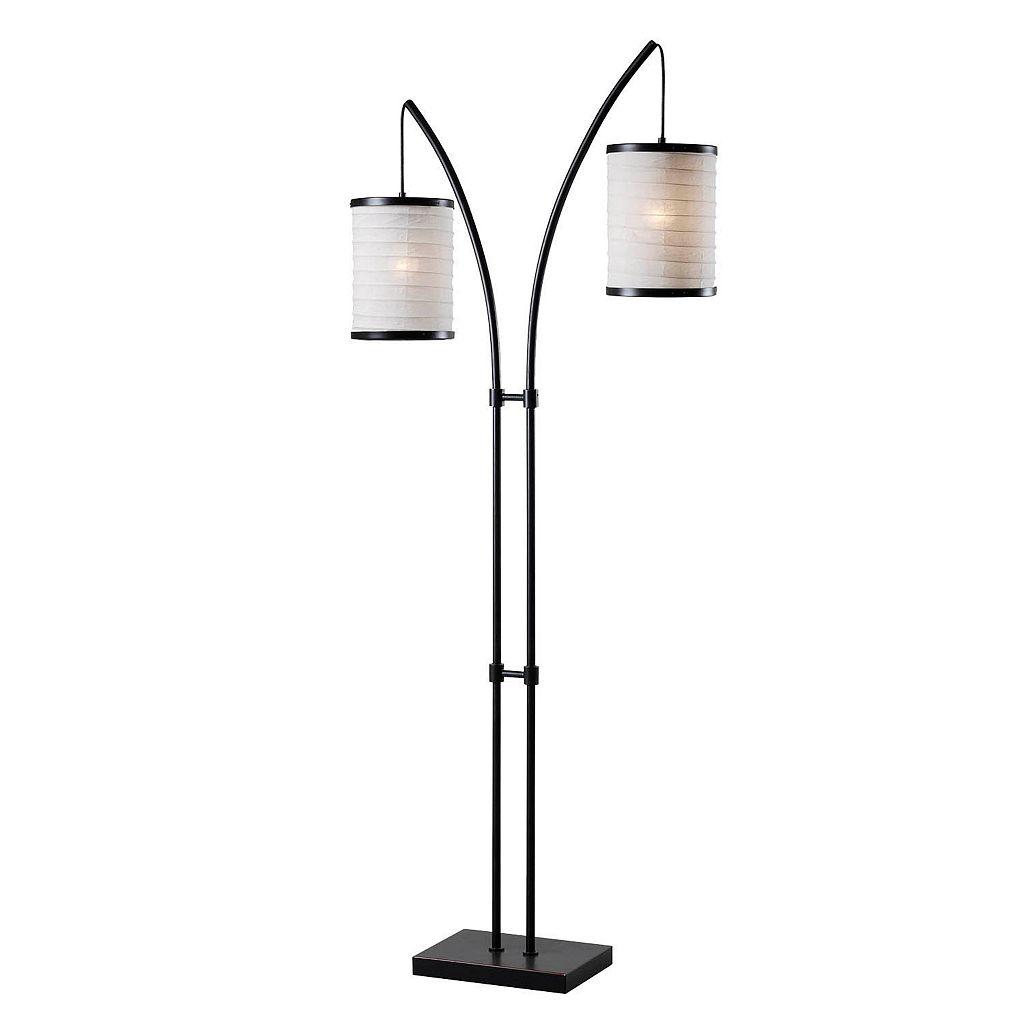 Kenroy Home Lanterna 2-Light Floor Lamp