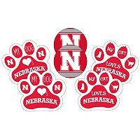 Nebraska Cornhuskers Pet 6-Piece Magnet Set