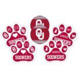 Oklahoma Sooners Pet 6 pc Magnet Set