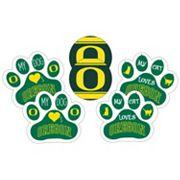 Oregon Ducks Pet 6 pc Magnet Set