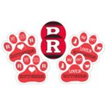 Rutgers Scarlet Knights Pet 6 pc Magnet Set