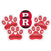 Rutgers Scarlet Knights Pet 6 pc Magnet Set
