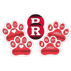 Rutgers Scarlet Knights Pet 6-Piece Magnet Set