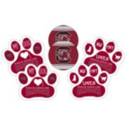 South Carolina Gamecocks Pet 6-Piece Magnet Set