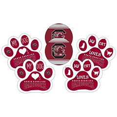 South Carolina Gamecocks Pet 6 pc Magnet Set