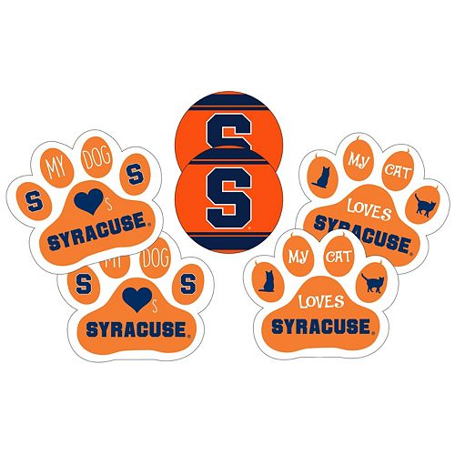 Syracuse Orange Pet 6-Piece Magnet Set