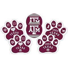 Texas A&M Aggies Pet 6 pc Magnet Set