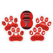 Texas Tech Red Raiders Pet 6 pc Magnet Set