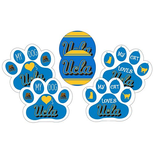 UCLA Bruins Pet 6-Piece Magnet Set