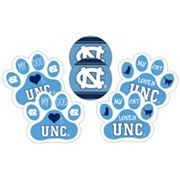 North Carolina Tar Heels Pet 6 pc Magnet Set