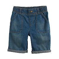 Boys 4-10 Jumping Beans® Roll Cuff Denim Shorts
