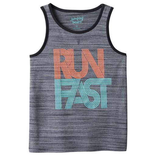 Boys 4-10 Jumping Beans® Playcool Neon Textured Active Muscle Tank Top