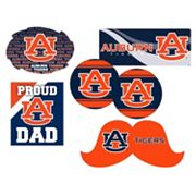 Auburn Tigers Proud Dad 6 pc Decal Set