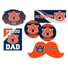 Auburn Tigers Proud Dad 6-Piece Decal Set