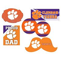 Clemson Tigers Proud Dad 6 pc Decal Set
