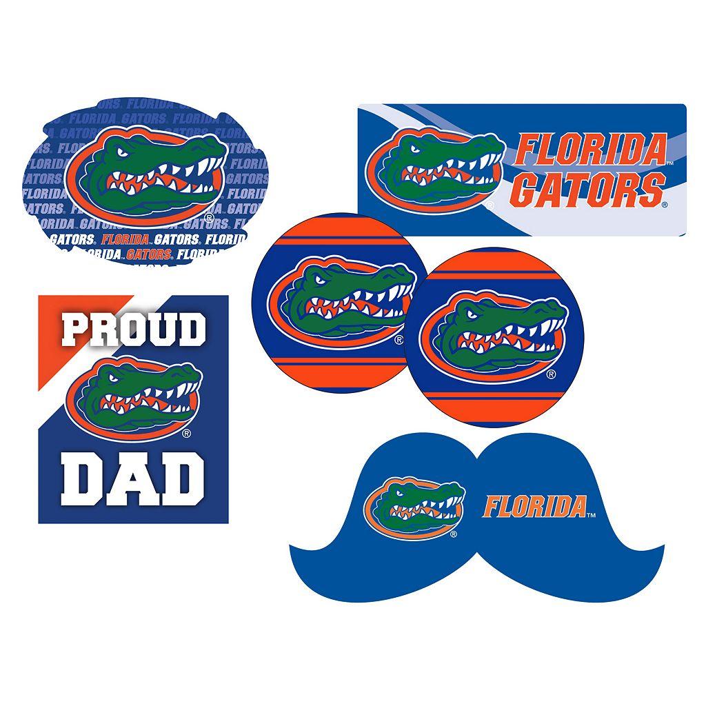 Florida Gators Proud Dad 6-Piece Decal Set