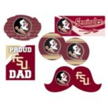 Florida State Seminoles Proud Dad 6 pc Decal Set