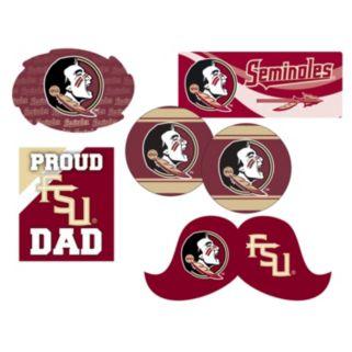 Florida State Seminoles Proud Dad 6-Piece Decal Set