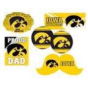 Iowa Hawkeyes Proud Dad 6 pc Decal Set