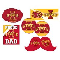 Iowa State Cyclones Proud Dad 6-Piece Decal Set
