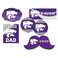 Kansas State Wildcats Proud Dad 6-Piece Decal Set