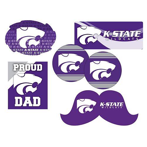 Kansas State Wildcats Proud Dad 6-Piece Decal Set