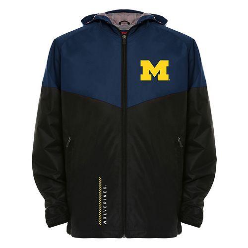 Men's Franchise Club Michigan Wolverines Storm Softshell Jacket