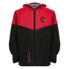 Men's Franchise Club Louisville Cardinals Storm Softshell Jacket
