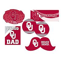 Oklahoma Sooners Proud Dad 6 pc Decal Set
