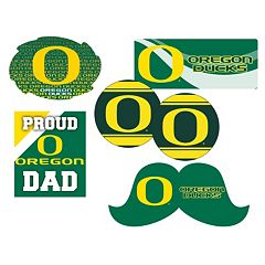 Oregon Ducks Proud Dad 6-Piece Decal Set