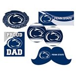 Penn State Nittany Lions Proud Dad 6-Piece Decal Set