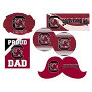 South Carolina Gamecocks Proud Dad 6 pc Decal Set