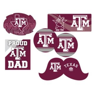 Texas A&M Aggies Proud Dad 6-Piece Decal Set
