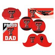 Texas Tech Red Raiders Proud Dad 6 pc Decal Set