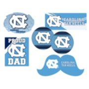 North Carolina Tar Heels Proud Dad 6-Piece Decal Set