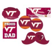 Virginia Tech Hokies Proud Dad 6-Piece Decal Set