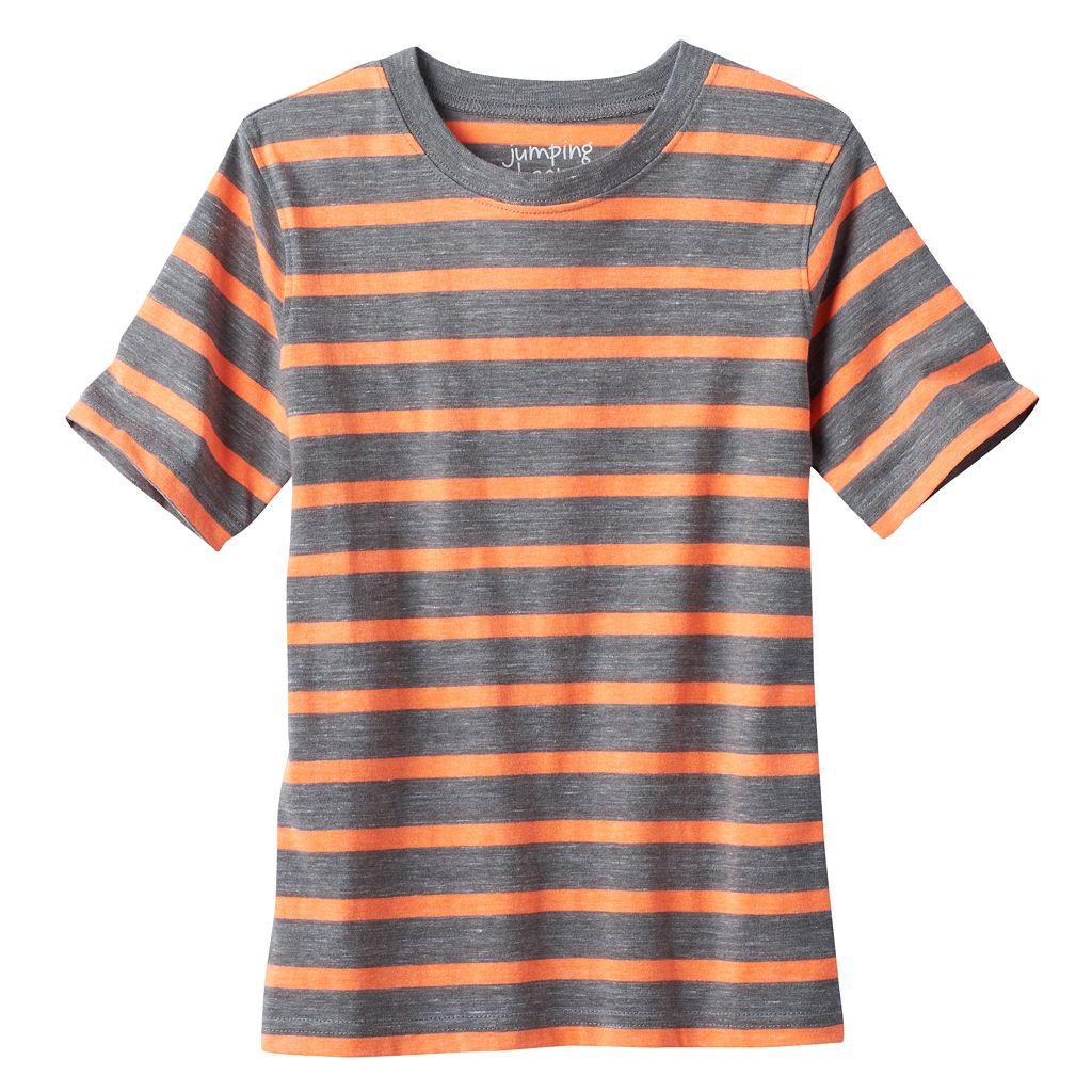 Boys 4-10 Jumping Beans® Slubbed Stripe Tee